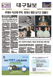 대구일보  1면 이미지